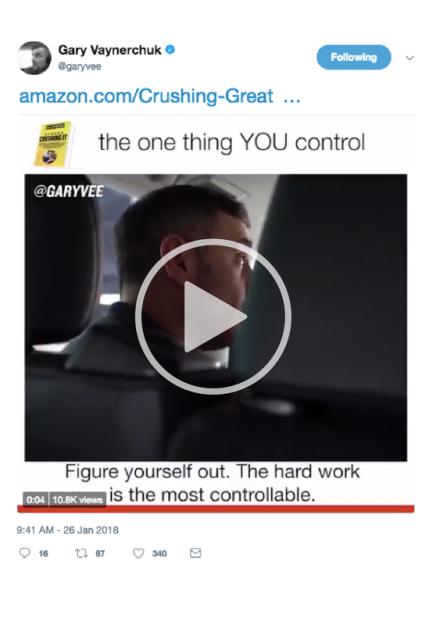 Gary Vee Twitter Video